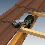 AP121 COBRA Timber Mount Anchor Kit for fall arrest