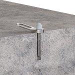 AP125S XPLORA Concrete Mount Fall Arrest Rope Access Anchor