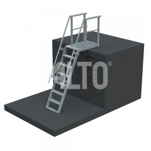ST580 ALTO Step Ladder providing access to roof tops, equipment and plant