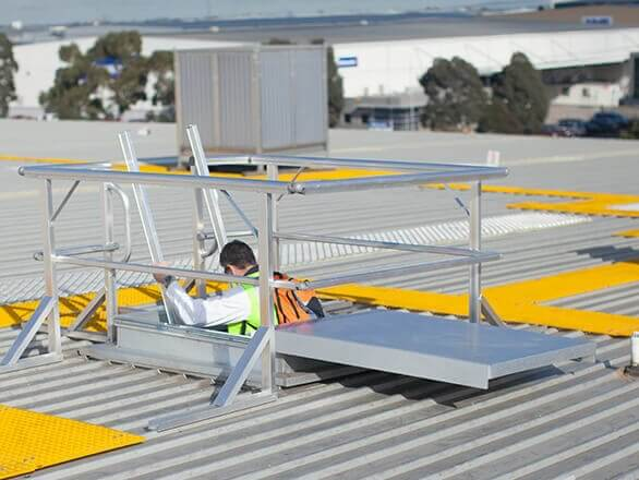 SKYDORE Access Roof Hatches by SAYFA