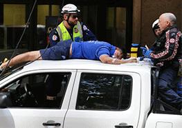 Emergency workers