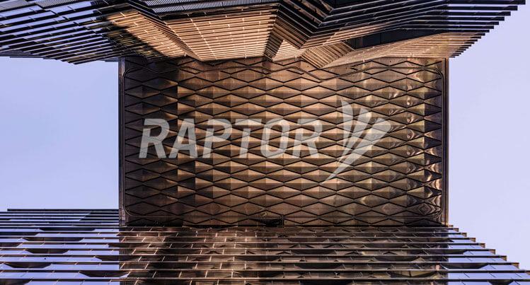 Raptor suspended rigid rail facade maintenance