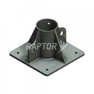 Raptor Davit Base, Floor Mount used for rope access to facades