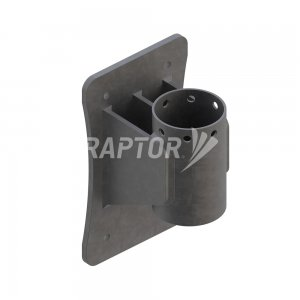 Raptor Davit Base, Wall Mount used with davit arms for rope access