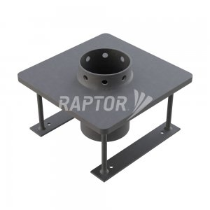 Raptor Davit Base Cast-In for rope access davit systems