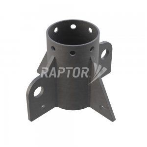 Raptor Davit Base used with davit arms for rope access